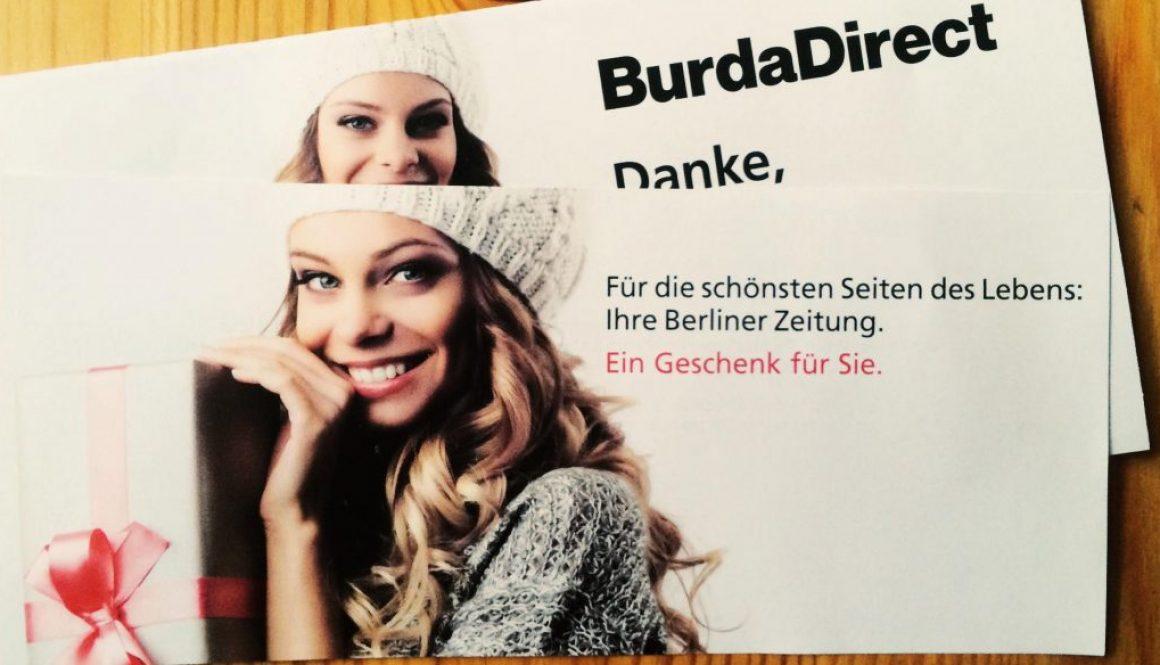 Berliner Zeitung - umsonst, gratis. Auch wertlos?
